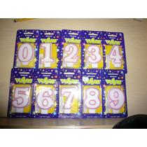 Velas Para Pastel De Numero Pastelería Repostería Fiesta Op4
