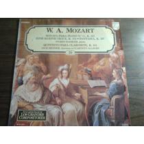Disco Acetato De Enciclopedia Silvat Grandes Composi Mozart