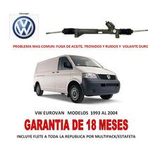 Caja Direccion Hidraulica Cremallera P/bomba Vw Eurovan Omm