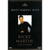 Ricky Martin Live In Spain Dvd Importado De Alemania Idd