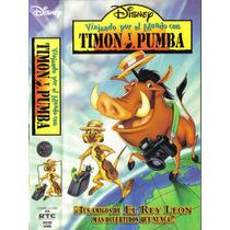 Timon Y Pumba Viajando Por El Mundo Vhs De Coleccion Idd