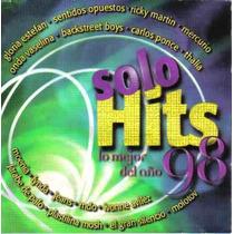 Solo Hits Lo Mejor Del Año 98 Cd Thalia Jeans Lynda Molotov