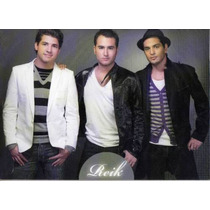 Cd Maxi Single De Reik: 5 Canciones, 1 Videoclip, Fotos