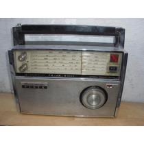 Radio Multibanda De Los 60`s, Silver, No Funciona
