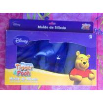 Disney Pooh Y Tiger Molde De Silicon