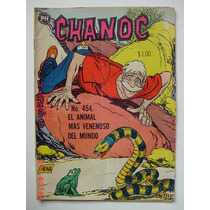 Chanoc Aventuras De Mar Y Selva # 454 Original Comic 1968