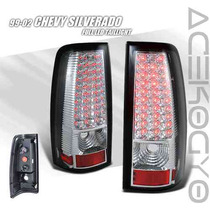 Calaveras Cromadas Led Chevrolet Cheyenne 99 00 01 02 Ss 400