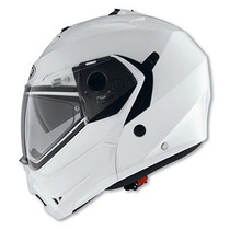 Yamaha Casco Caberg Duke Blanco Metal
