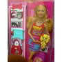 Barbie Fashionista Con Mascota Y Accesorios