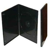 Estuche Negro Dvd O Cd - Ultra Slim Dual 7mm - Sencillo 14mm