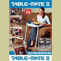 Mesa Plegable Table Mate 2 Original Como Lo Vio En Tv Nueva