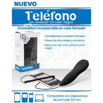 Auricular Telefono Retro Iphone Blackberry 3.5 Mm Vv4