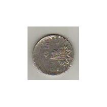 Moneda De Cinco Pesos Descentrada De Los 80?s