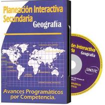 Planeación Interactiva Secundaria Geografia 1 Cd Rom