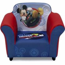 Sofa Sillon Tapizado Disney Mickey Mouse