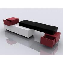 Moderno Centro De Entretenimiento Modular Minimalista Dmm