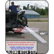 Escalon Para Rampa Moto Plegable Para Tiron No Remolques Vv4