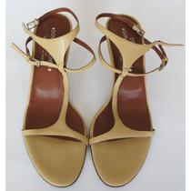 Zapatos Bajos Piel Beige Donald J. Pliner 10m Italianos