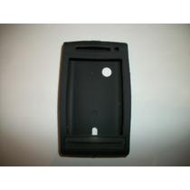 Protector Silicon Case Sony Ericsson Xperia X8 Color Negro!!