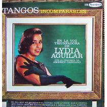 Tango, Lydia Aguilar (tangos Incomparables), Lp 12´, Css.