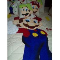Mario Bros Colcha Matrimonial Paquete $3,200.00aa1