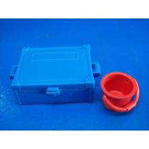 Caja Y Cubeta Playmobil