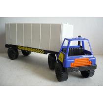Trailer Caja - Camioncito De Juguete - Camion Modelo Escala