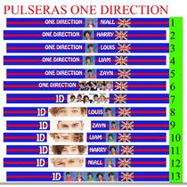 Pulseras Para Amarrar De One Direction, 1d, Impresion Imagen