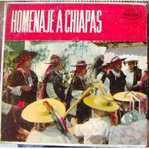 Bolero, Homenaje A Chiapas, Lp 12´, Hecho En México, Hwo.