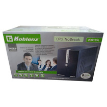 No-break Marca Koblenz 20012,2000va/1200w, 8 Cont,90 Min;usb