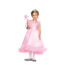 Vestido Princesa Color Rosa Niña Disfraz Mmu