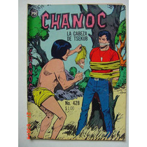Chanoc Aventuras De Mar Y Selva # 428 Original Comic 1967