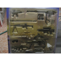 Set De Armas Gi-joe Bbi Usa Army Deset Militar 1/18