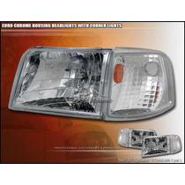 Combos Faros Transparentes + Cuartos Ford Ranger 93 94 95 97