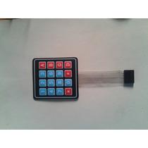 Arduino: Teclado Matricial De 4x4 Auto-adherible
