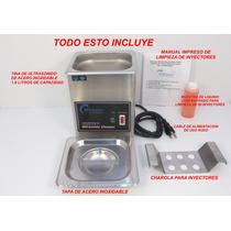 Tina De Ultrasonido Profesional De Lavado De Inyectores Sp0