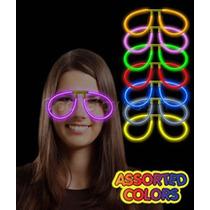 $5.99 C/u 10 Lentes Luminosos Cyalume Neon Fiesta Evento Gau