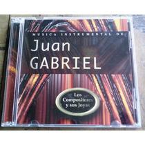 Musica Instrumental De Juan Gabriel Cd Unica Ed 1997 Op4
