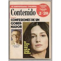 Ofelia Medina Revista Contenido De 1978 Ndd