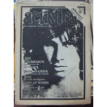 Revista Acustica,phil Collins,iron Maiden #15 1983