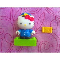 Hello Kitty Cartero Miniatura Megablock Serie 1