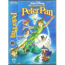 Peter Pan Vhs De Coleccion. 1a Edicion Hablada En Español
