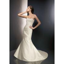Vestido De Novia Angelina Faccenda Color Ivory Nvb