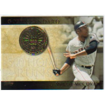 2012 Topps Gold Standard #gs9 Willie Mccovey Gigantes