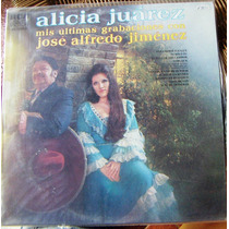 Bolero, José Alfredo Jiménez Y Alicia Juárez, Lp 12´, Hwo.