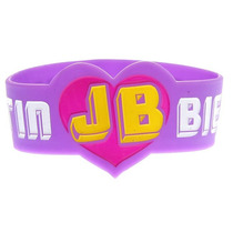 Hot Topic Hot Topic Muñequera Pulsera Justin Bieber Die-cut