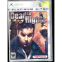 X Box Dead To Rights Nuevo Bfn