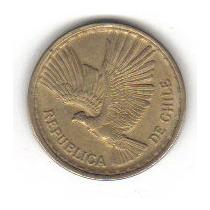 10 Centesimos 1970 Moneda Chile Cóndor Ave Nacional - Vbf