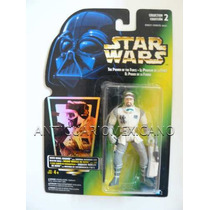 Star Wars Hoth Rebel Soldier Potf 1996 Cartón Verde