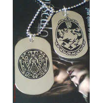 Placa Dogtag Escudo Cullen Y Tatto Quileute Twilight/eclipse